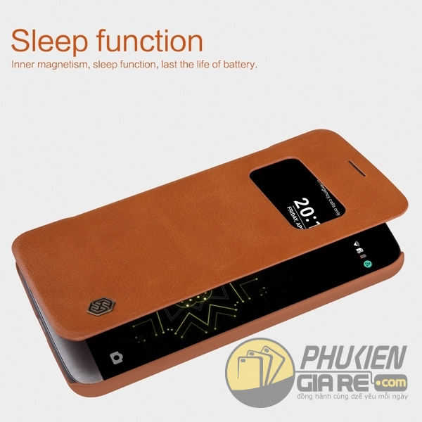 Bao da LG G5 hiệu Nillkin (QIN Series)