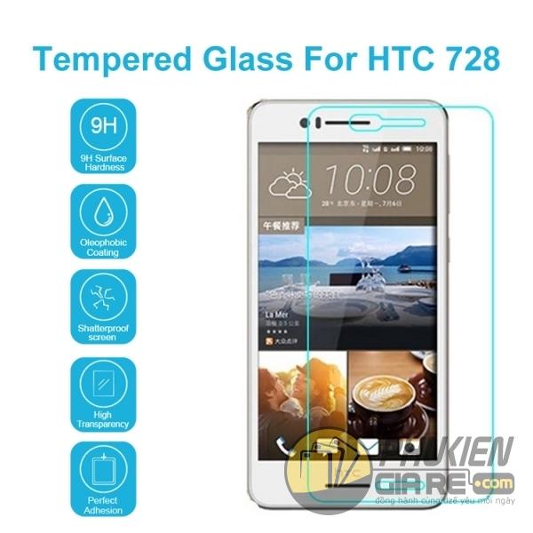 Dán cường lực HTC Desire 728 hiệu Glass
