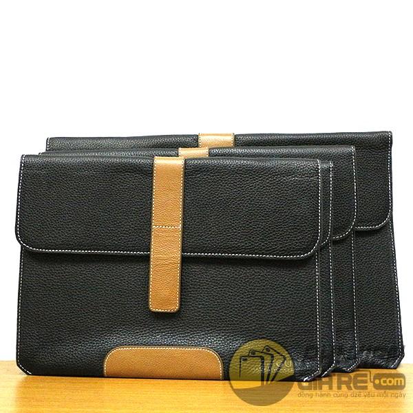 Túi Đựng Macbook 13inch Da Thật 100% - May Thủ Công