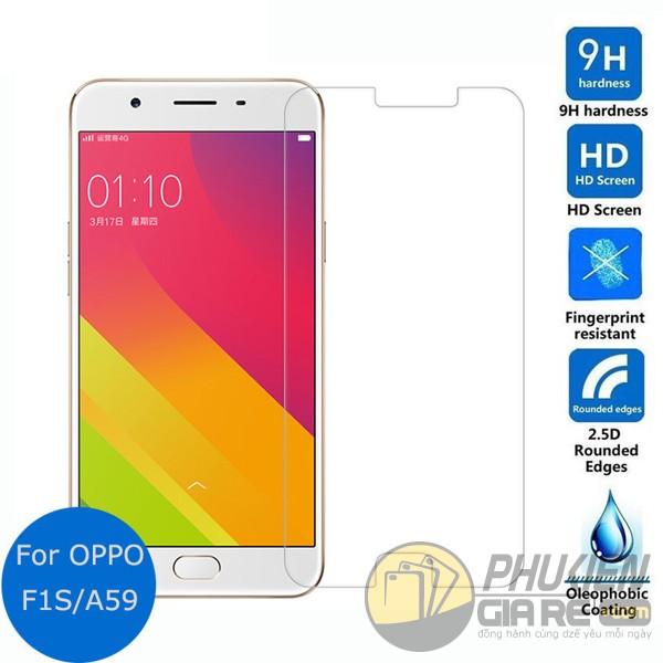 Dán cường lực Oppo F1S (A59)  hiệu Glass