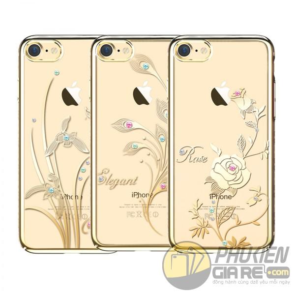Ốp thời trang Iphone 7 đính đá hiệu KingxBar