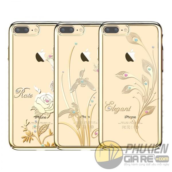 Ốp thời trang Iphone 7 Plus đính đá hiệu KingxBar