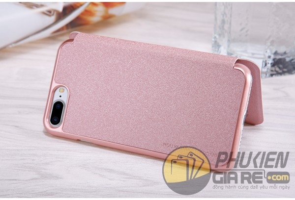 Bao da Iphone 7 Plus hiệu Nillkin Sparkle