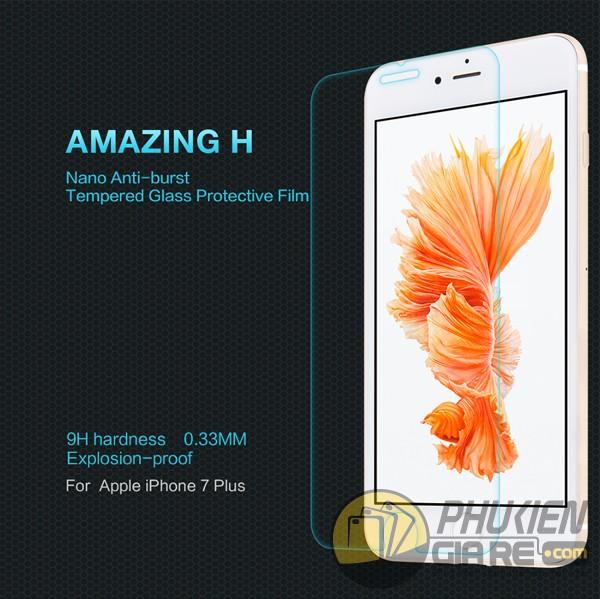 Dán cường lực 9H cho iPhone 7 Plus hiệu Nillkin