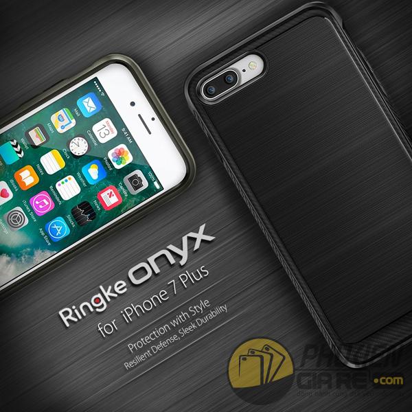 Ốp Lưng iPhone 7 Plus Hiệu Ringke Onyx (thương hiệu Hàn Quốc)