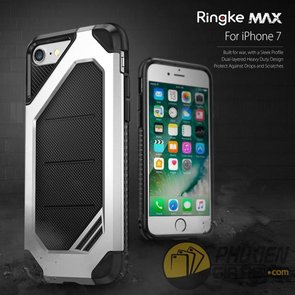 Ốp lưng iPhone 7 hiệu Ringke Max (thương hiệu Hàn Quốc)