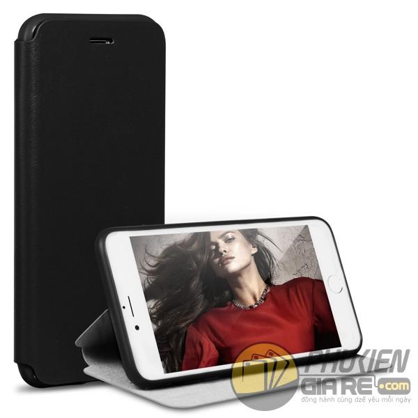 Bao da iPhone 8 Plus hiệu Pipilu X-Level (Fibcolor Series)