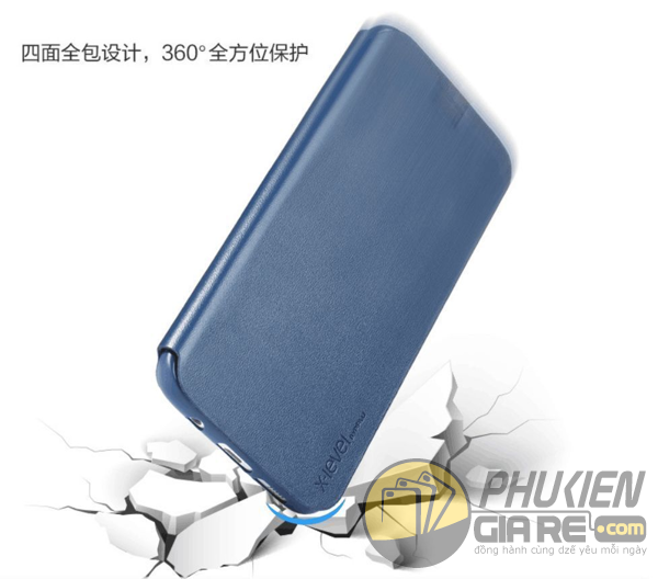 Bao da Samsung Galaxy J7 Prime hiệu Pipilu X-Level (Fibcolor Series)