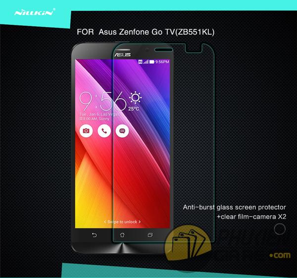 Dán cường lực 9H cho Asus Zenfone Go TV (ZB551KL) hiệu Nillkin