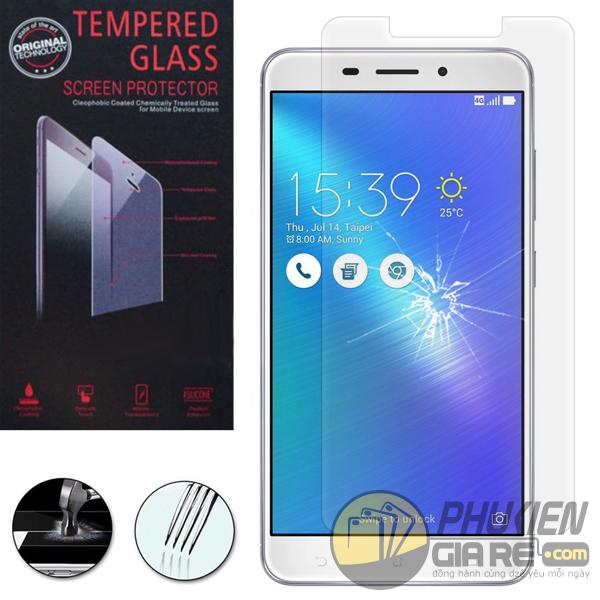 Dán cường lực Asus Zenfone 3 Laser 5.5inch (ZC551KL) hiệu GLASS