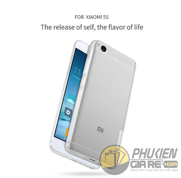 Ốp lưng Xiaomi Mi 5S hiệu Nillkin dẻo siêu mỏng