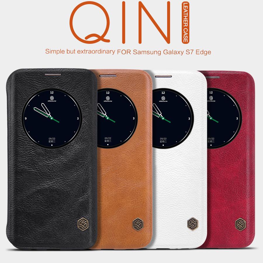 Bao da Galaxy S7 Edge hiệu Nillkin (QIN Series)