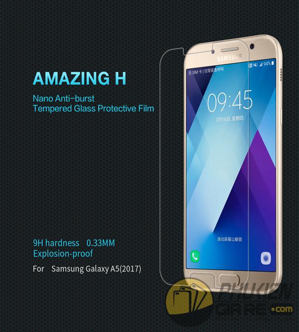 Dán cường lực 9H cho Galaxy A5 2017 hiệu Nillkin