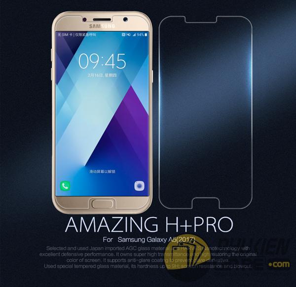 Dán cường lực 9H+ cho Samsung Galaxy A5 2017 hiệu Nillkin