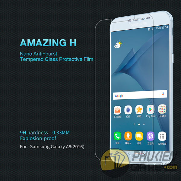 Dán cường lực 9H cho Galaxy A8 2016 hiệu Nillkin