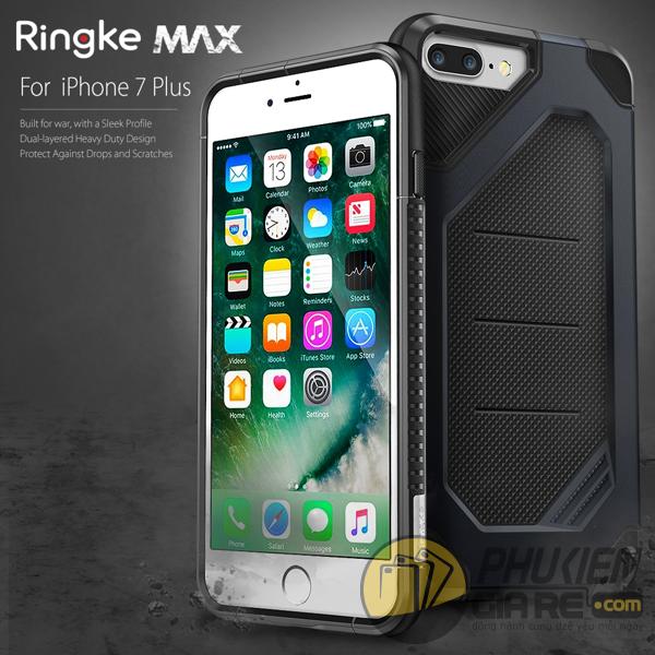 Ốp lưng iPhone 8 Plus hiệu Ringke Max (thương hiệu Hàn Quốc)