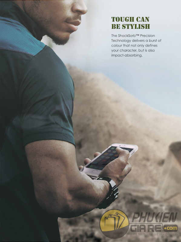 Ốp lưng Apple iPhone 7 Plus - Uniq Combat