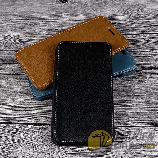 Bao da iPhone 8 may thủ công Luxury Leather