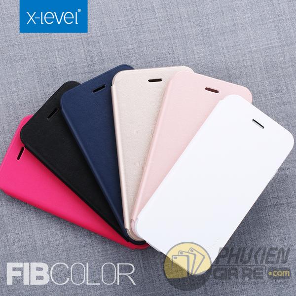Bao da Samsung Galaxy A3 2017 hiệu Pipilu X-Level (Fibcolor Series)