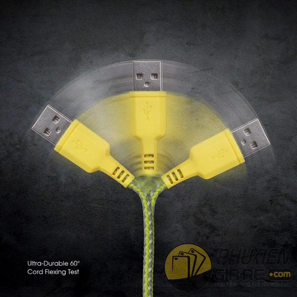 Cáp Lightning Energea Nylotough Charge and Sync 16CM