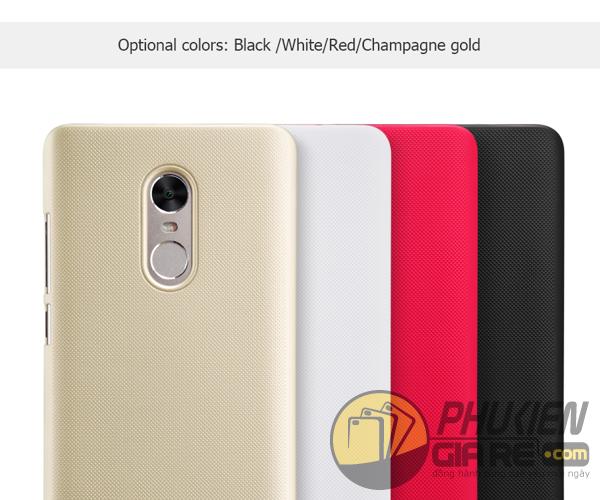 Ốp lưng Xiaomi Redmi Note 4X hiệu Nillkin dạng sần