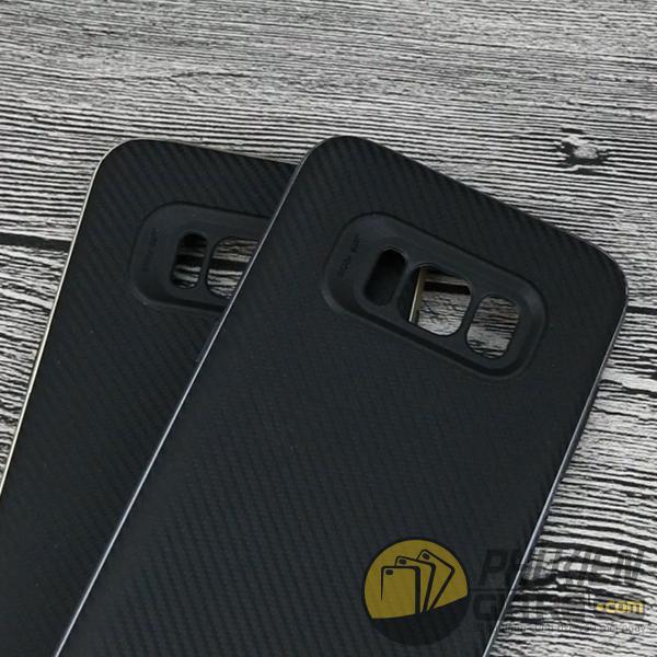 Ốp lưng Samsung Galaxy S8 vân carbon hiệu Likgus