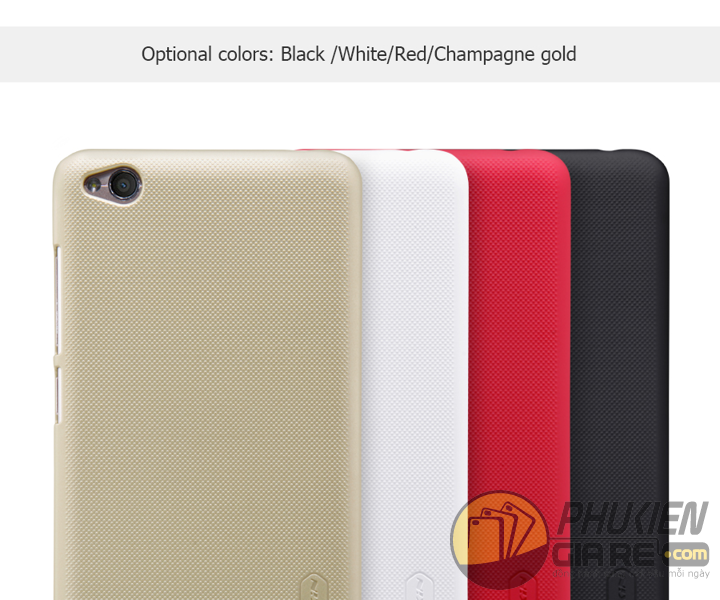 Ốp lưng Xiaomi Redmi 4A hiệu Nillkin dạng sần