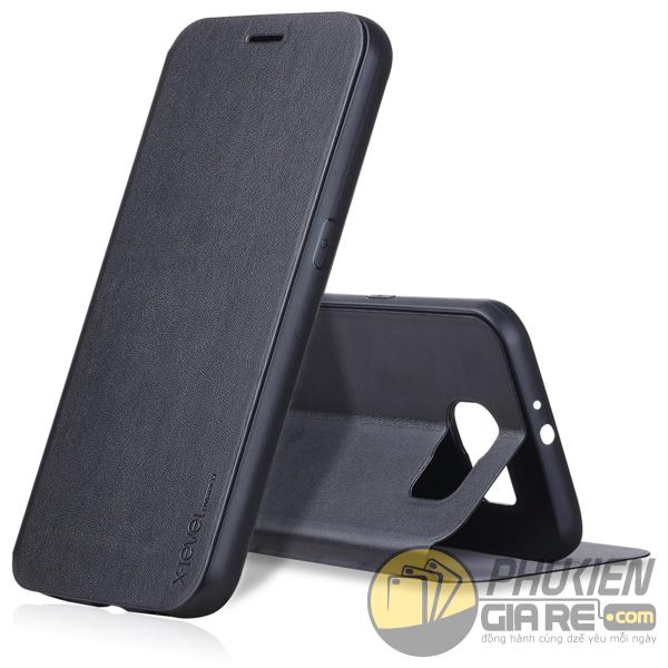 Bao da Samsung Galaxy S8 hiệu Pipilu X-Level (Fibcolor Series)