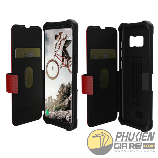 Bao da Urban Armor Gear Galaxy S8 Metropolis Series