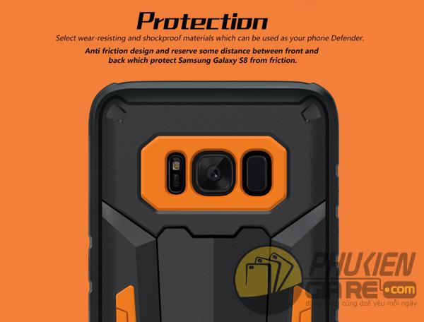 Ốp lưng chống sốc Samsung S8 hiệu Nillkin Defender II