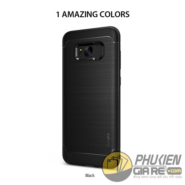Ốp Lưng Samsung Galaxy S8 Plus Hiệu Ringke Onyx (thương hiệu Hàn Quốc)