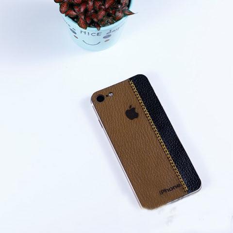 Dán da iPhone 8 da bò phối màu