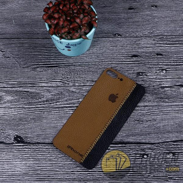 Dán da iPhone 8 Plus da bò phối màu