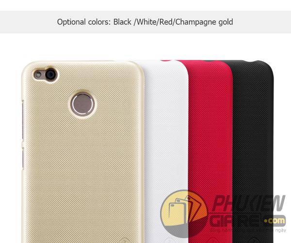Ốp lưng Xiaomi Redmi 4X hiệu Nillkin dạng sần