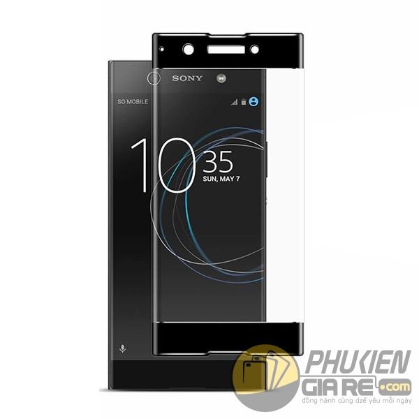 Dán cường lực Xperia XA1 Ultra 9H full màn hình glass