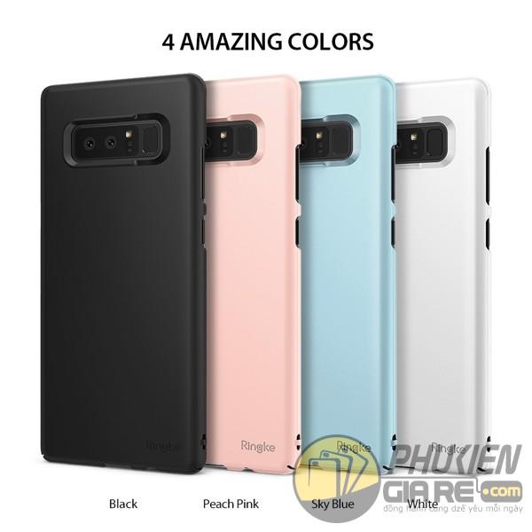 Ốp lưng Galaxy Note 8 chống bám bẩn và vân tay Ringke Slim