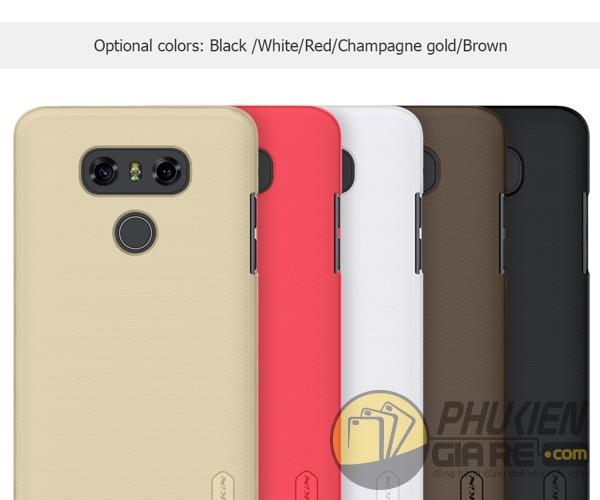Ốp lưng LG G6 dạng sần Nillkin