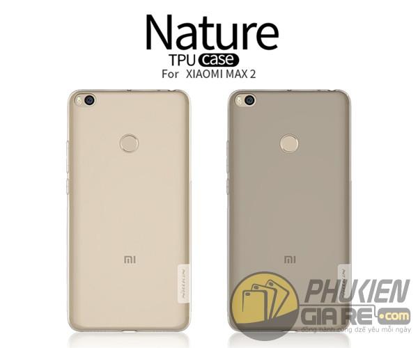 Ốp lưng Xiaomi Mi Max 2 nhựa dẻo siêu mỏng Nillkin