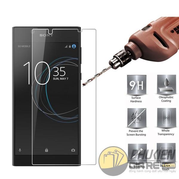 Dán cường lực Sony L1 hiệu Glass