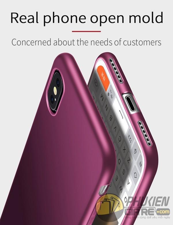 Ốp lưng iPhone X dẻo nhám Pipilu X-Level Guardian