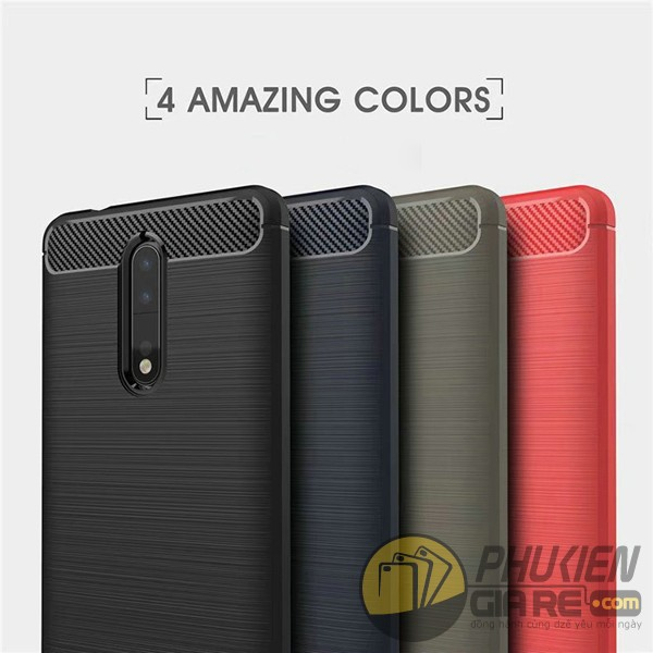 Ốp lưng Nokia 8 nhựa mềm chống sốc Likgus