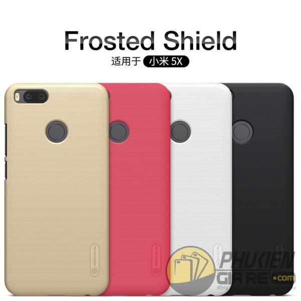 Ốp lưng Xiaomi Mi 5X dạng sần hiệu Nillkin