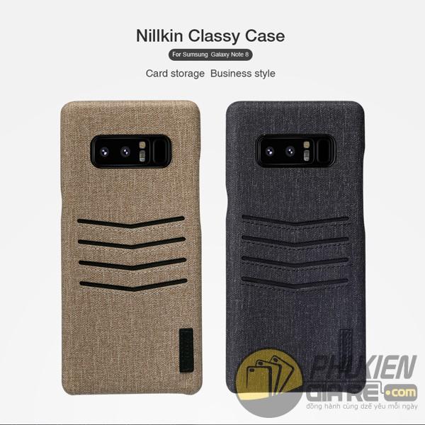 Ốp lưng Galaxy Note 8 phong cách doanh nhân Nillkin Classy