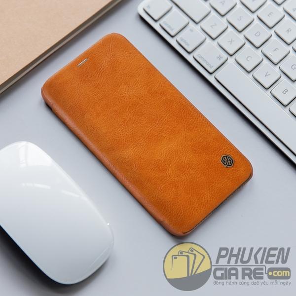 Bao da iPhone X Nillkin QIN Series