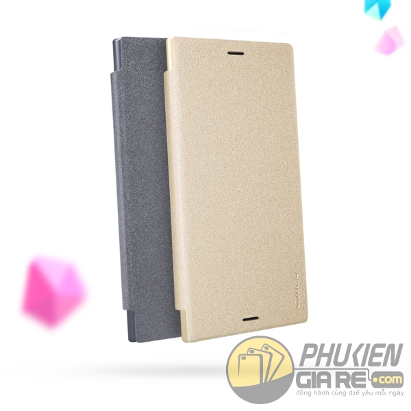 Bao da Sony XZ1 Nillkin Sparkle
