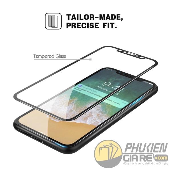 Dán cường lực iPhone X 9H full màn hình Autobot