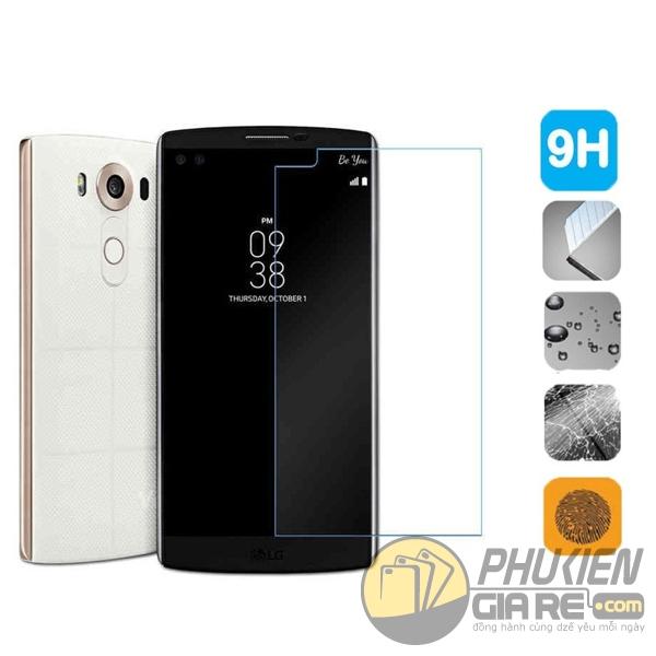 Dán cường lực LG V10 hiệu Glass