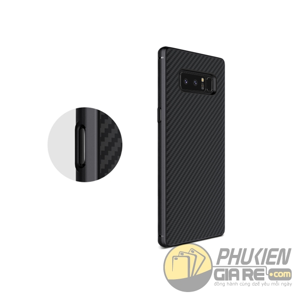 Ốp lưng Galaxy Note 8 vân carbon Nillkin Synthetic fiber