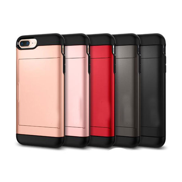 Ốp lưng iPhone 7 Plus đựng card độc đáo Spigen Slim Armor CS