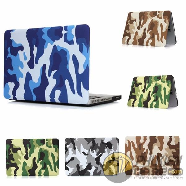 Ốp lưng Macbook Pro 13'' Non-Touch Bar ngụy trang quân đội